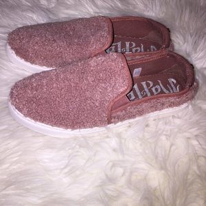 FINAL PRICE Mad Love Pink Slip On Shoes, Size 8